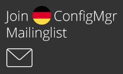 Join ConfigMgr-Mailinglist
